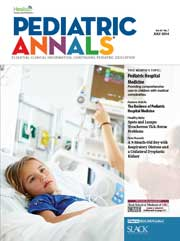 Pediatric Annals July 2014 cover
