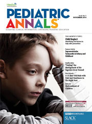 Pediatric Annals November 2014