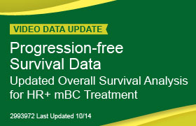Progression-free Survival Data Updated Overall Survival Analysis for HR+mBC Treatment