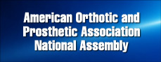 American Orthothic and Prosthetic Association National Assembly 2016