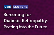 Screening for Diabetic Retinopathy