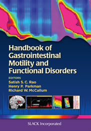 Handbook of Gastrointestinal Motility and Functional Disorders