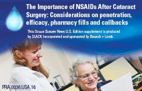 The Importance of NSAIDS After Cataract Surgery: Considerations on Penetration, Efficacy, Pharmacy Fills and Callbacks