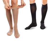 EASE by Therafirm® Gradient Compression Hosiery from PEL